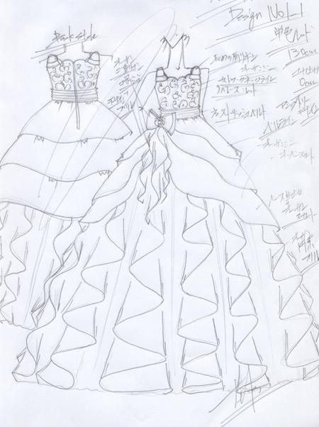 子供用ピアノの発表会ドレス 神奈川県 130cmサイズドレス