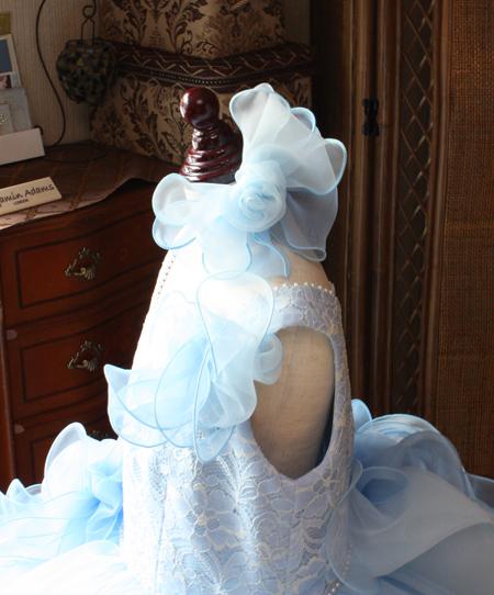 子供用ドレスのヘッドドレス