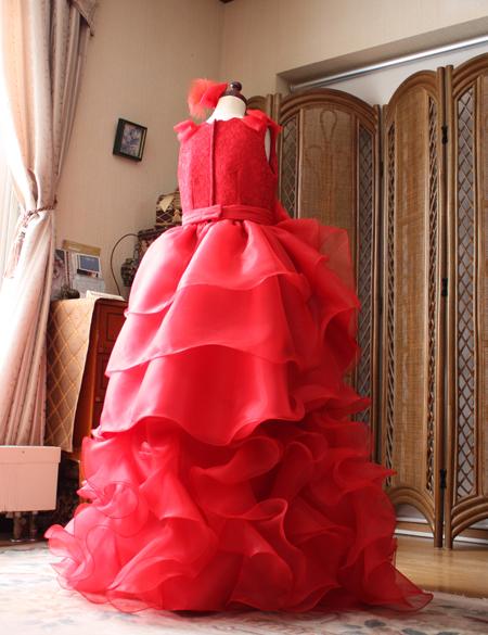 神奈川県のお子様に製作したピアノ用ドレス