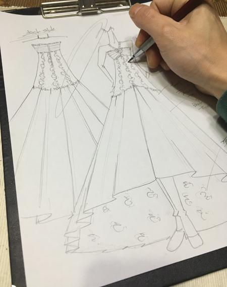 オートクチュール 中学生用ドレス