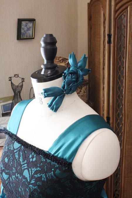 ピアノのコンクール用 ヘッドドレス 髪飾り