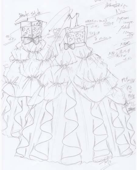お子様のイメージに近いドレスデザイン