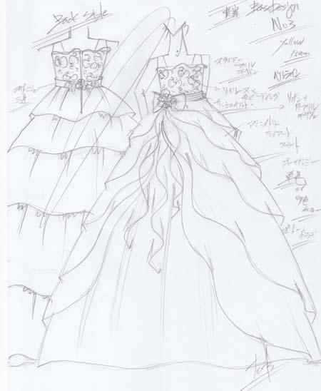 デザイナーから提案するドレスのデザイン