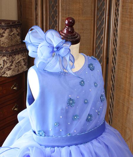 兵庫県のお客様に制作した発表会ドレス 130cmサイズ