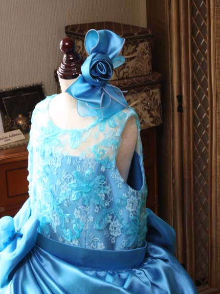 ヘッドドレスの付け位置と施し方