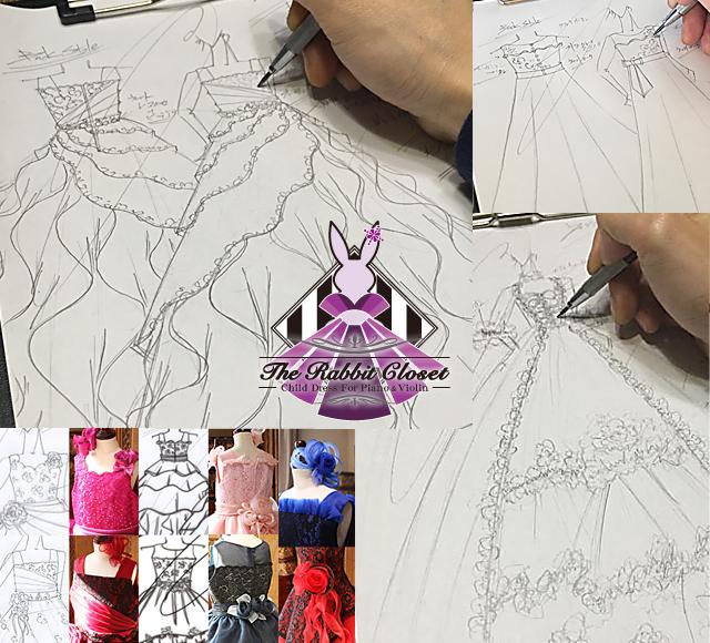 The Rabbit Closet デザイン画とドレスの選び方