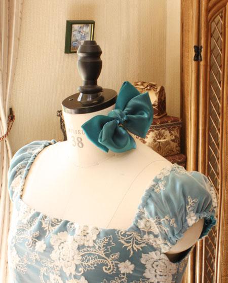 コンクール用の髪飾り ヘッドドレス