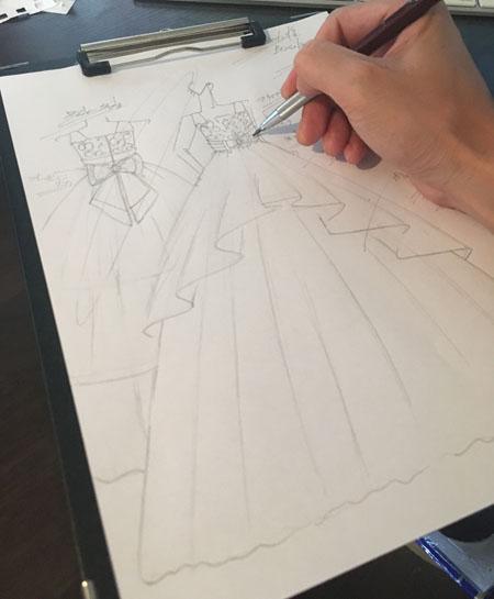 発表会ドレスとコンクールドレス制作