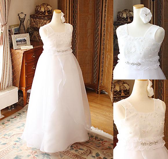 ハイウェストデザインのピアノ用ドレス