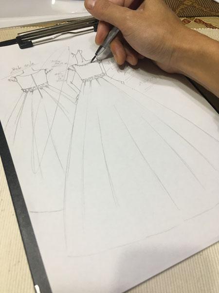 ピアノの演奏会とコンクールで使用するドレス