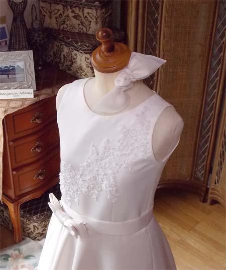 リボンのヘッドドレス