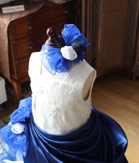 コンクール用のヘッドドレス 髪飾り