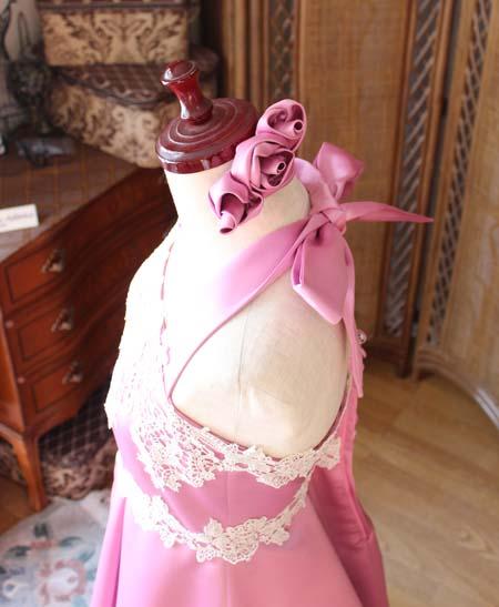 ヘッドドレス。コサージュと髪飾り