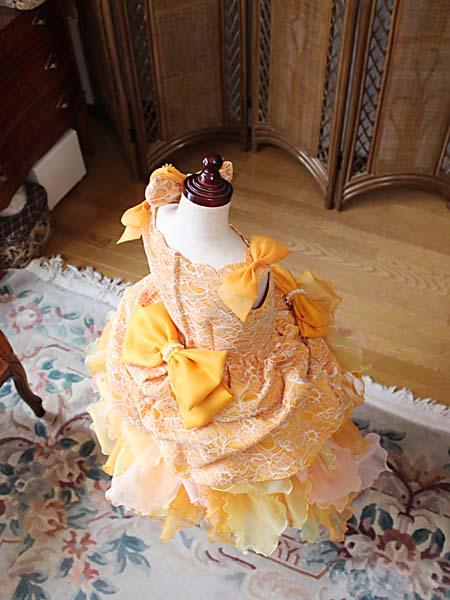 ボリューム感あるとびっきり可愛いコンサートドレス