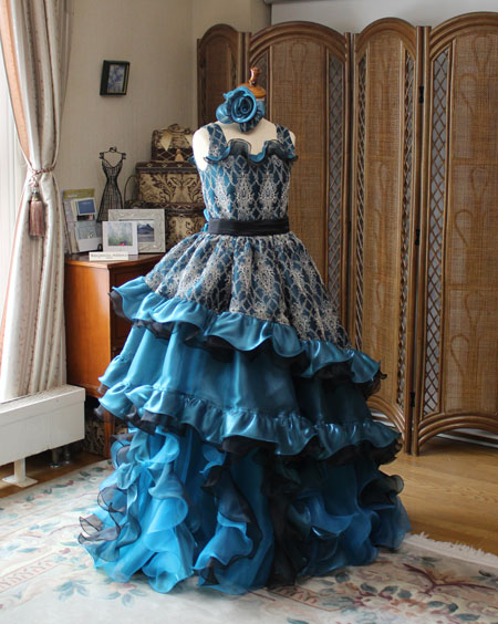 国際シュロスピア コンチェルト用ドレス