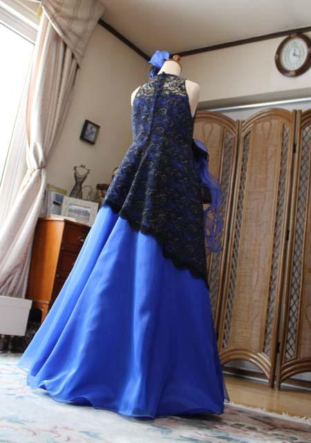 バックスタイルドレス フレアAライン