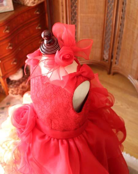 ヘッドドレスと髪飾り コサージュとリボン