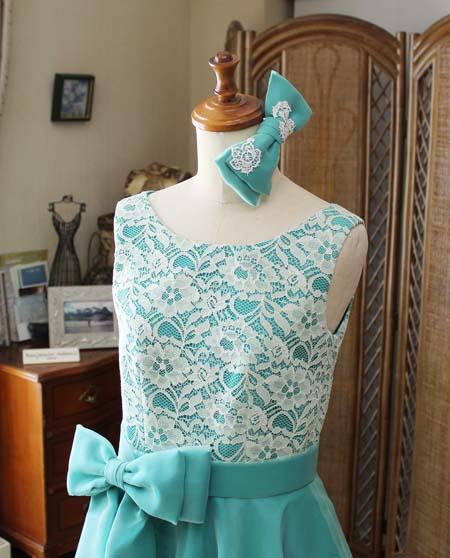 リボンデザインのヘッドドレス