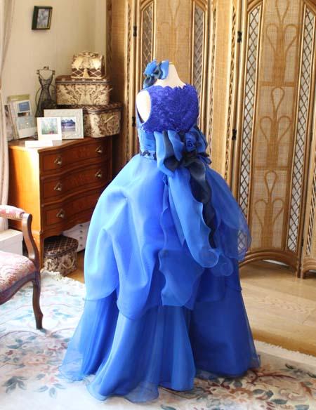バックスタイルデザイン オーダーメイドドレス
