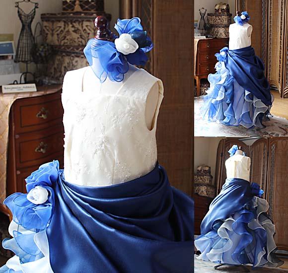 ネックライン ジュニアサイズドレス