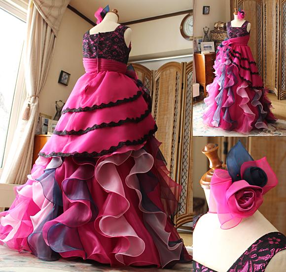 ヘッドドレスとフリルデザイン、ヘッドドレスの詳細