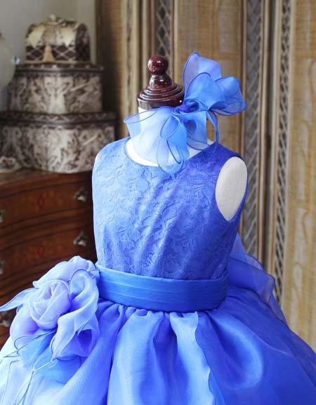 ヘッドドレスと髪飾り ウェストコサージュ
