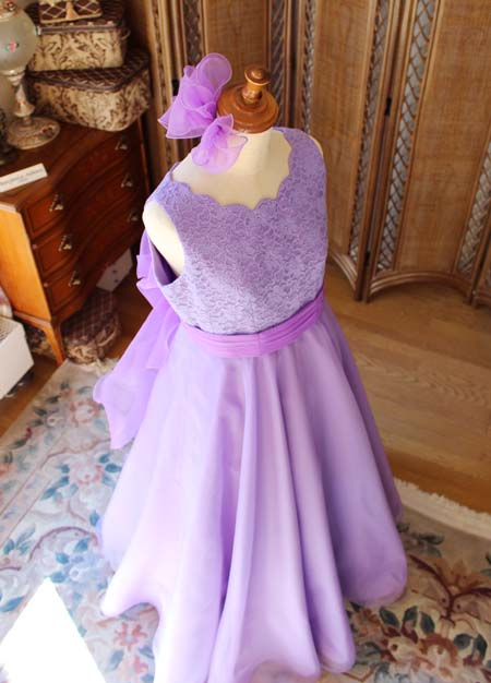 ドレスの全体構成 中学生用ドレス