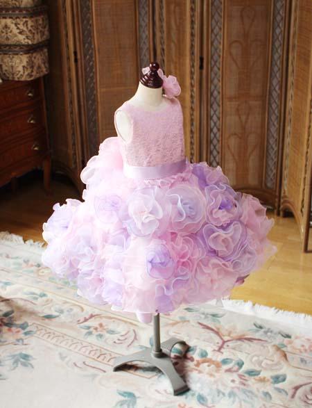 子供用ウェディングドレスを制作