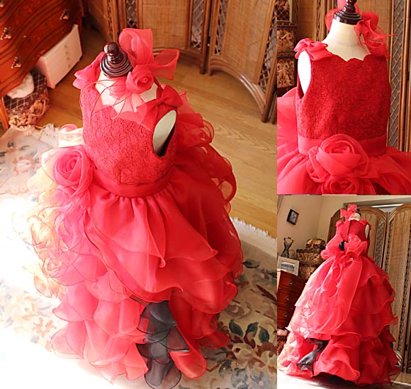 ヘッドドレス、リボン、コサージュの詳細