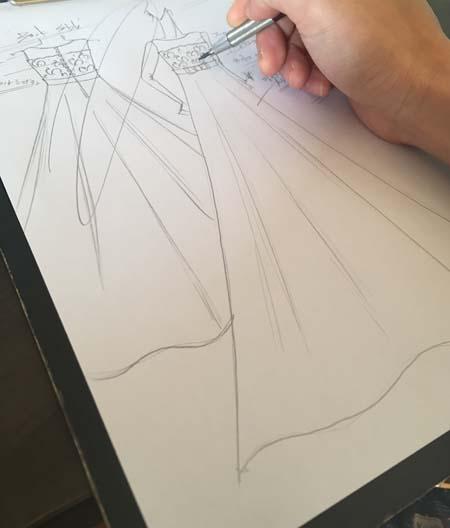 デザイン画の立案