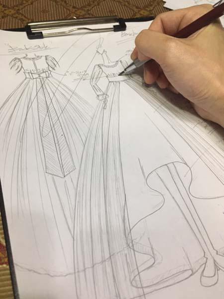 小学生の卒業式ドレス