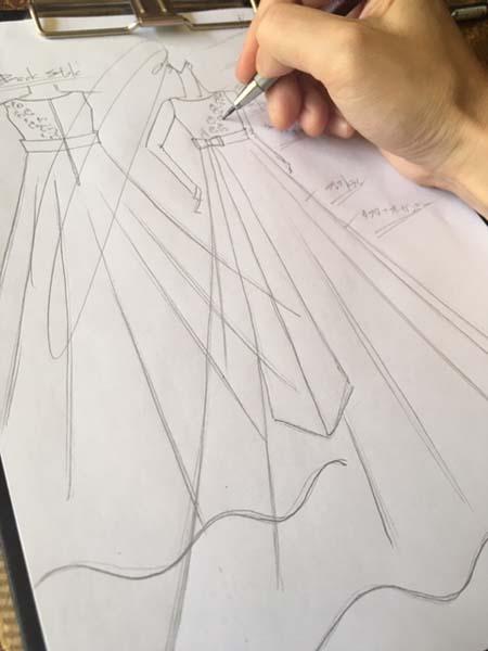 バイオリン用のジュニアサイズドレス デザイン