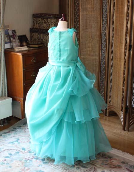 アシンメトリーデザイン 子供用ドレス