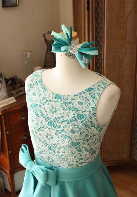 ヘッドドレスと上半身デザイン
