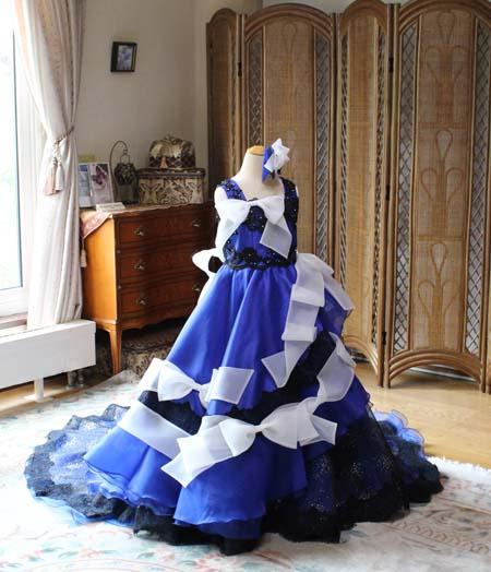 子供用ウェディングドレスをオーダーメイド制作