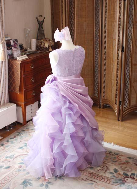 演奏者向けのジュニアドレス スカートデザイン