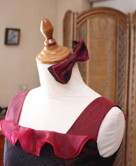 リボンの髪飾り ヘッドドレス