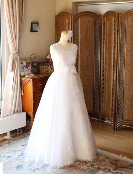 シルクオーガンジーのジュニアドレス  演奏家向けドレス