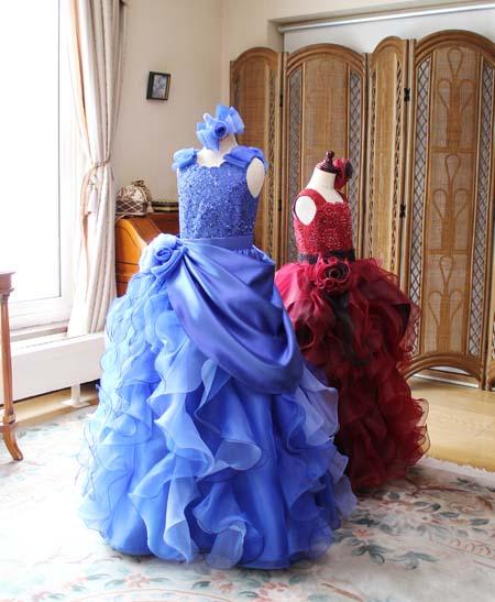 ドレスの撮影と今後の参考 コンサートドレス