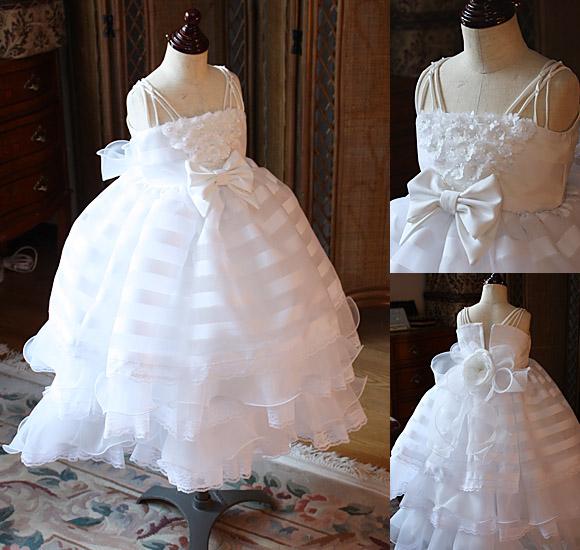 子供用サイズのウェディングドレス
