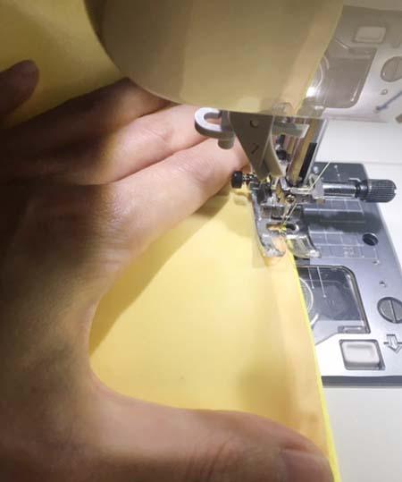 ヘムライン スカート裾の処理とお仕立て