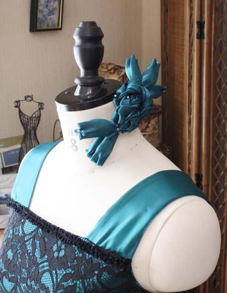 ヘッドドレス デザインリボン