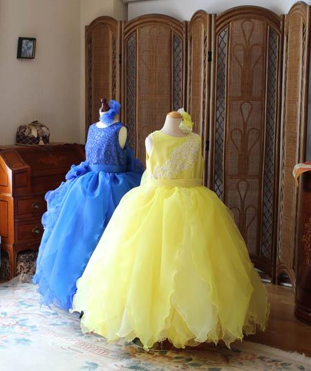 小学生が選ぶ演奏者用ドレス