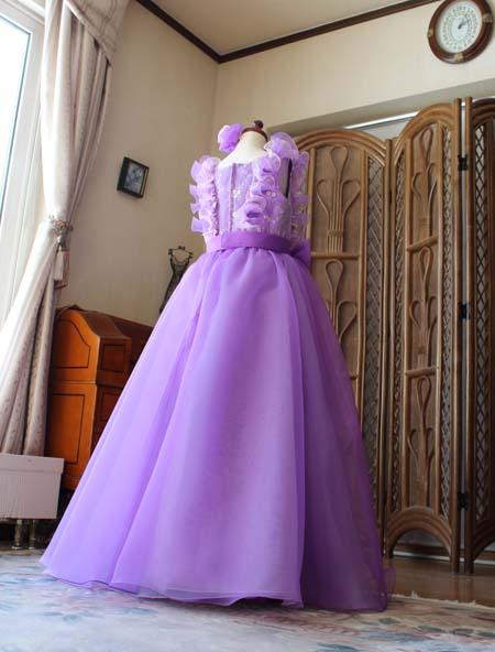スカートシルエット 発表会とコンクール用ドレス