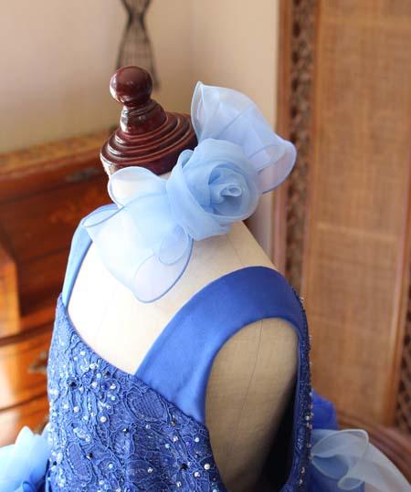 子供用ドレスのヘッドドレス 髪飾り