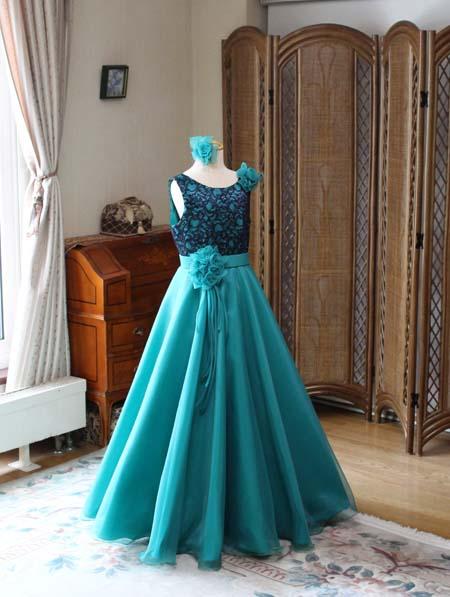 実際に創り上げたお客様のドレス