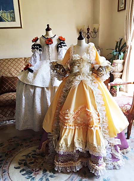 企業様からの案件 展示ドレスの製作 オートクチュール