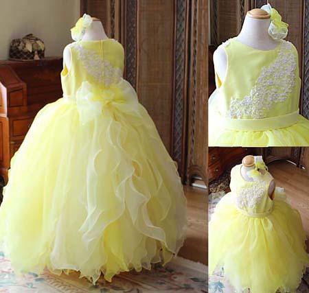 ハンドメイドで創り上げたドレス