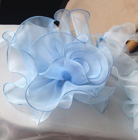 お花スカートの製作