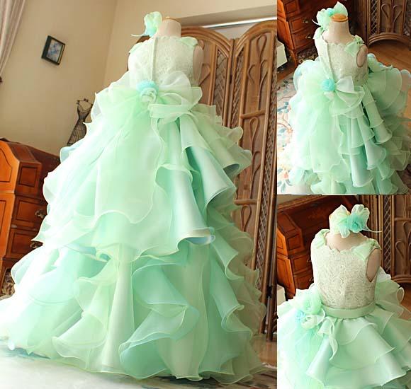 グラデーションカラードレス